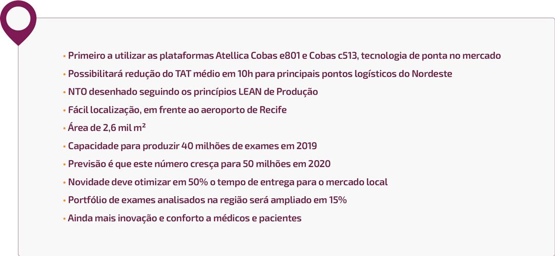 Diferenciais do NTO de Recife